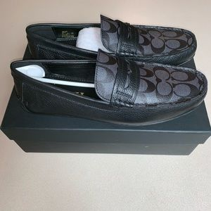 Coach Loafers/ Dress Shoes SLIP ON BRAND NEW